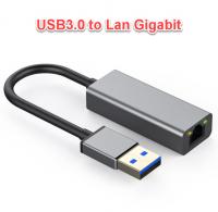 Cáp USB 3.0 to Lan Gigabit vỏ nhôm cao cấp