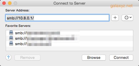 Kết nối từ máy Mac