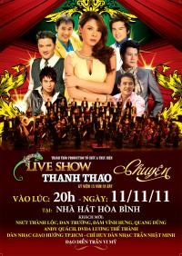 Live Show Thanh Thảo Kỷ Niệm 15 Năm Ca Hát