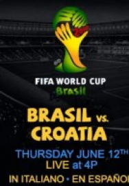 World Cup 2014 – Bảng A – Brazil vs Croatia ()