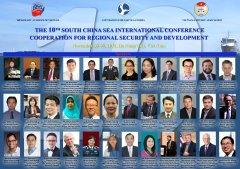 Tổng quan Hội thảo Quốc tế về Biển Đông lần 10